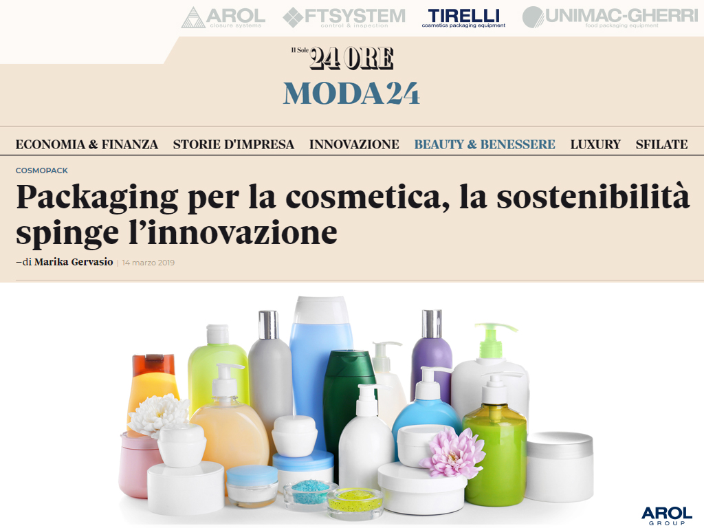 TIRELLI - Cosmetic packaging equipment specialist - News